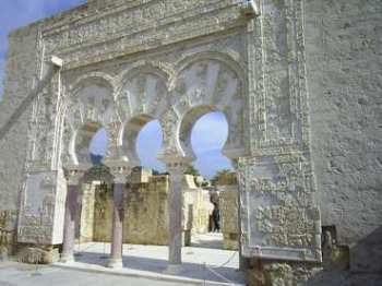 Toegang tot het huis van de eerste minister in Medina Azahara