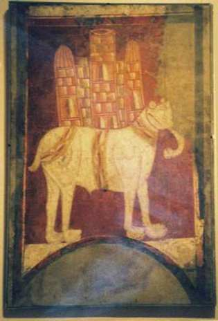 De olifant van San Baudelio van Berlanga