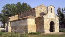 Kerkje van San Juan de Baños, provincie van Palencia