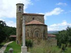 Collegiale kerk van San Martín de Elines in Cantabria