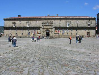 Het ziekenhuis van santiago de Compostela