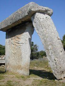 Taula, Menorca