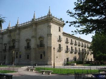 College van Santa Cruz, de huidige rector van de Universiteit van Valladolid
