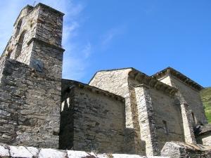 De kerk van Santiago de Peñalba