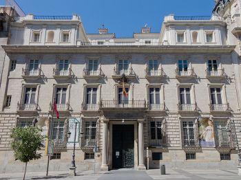 Het Real Academia de Bellas Artes de San Fernando.