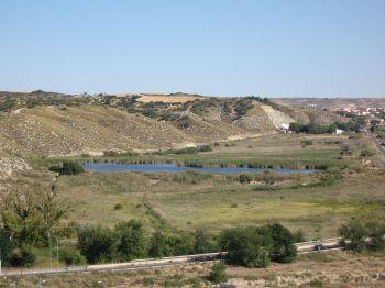 Het reservaat van de Ragajal-Mar de Ontigola, gelegen in Aranjuez