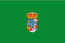 De oude vlag van de provincie Madrid, gebruikt tot 1983