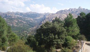 Uitzicht op de La Pedriza
