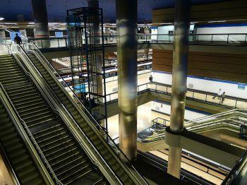Het metrostation van Chamartin te Madrid