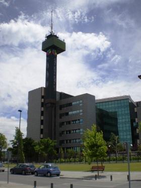 De installaties van Telemadridin de Ciudad de la Imagen (Pozuelo de Alarcón).