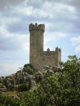 De toren van Torrelodones, een deel van het militaire verdedigingssysteem van Toledo