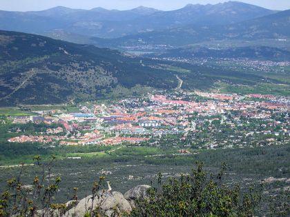 Moralzarzal, een stad in het gewest (comarca), van Cuenca del Guadarrama