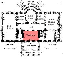 De vestibule (rood)