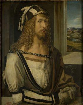 Zelfportret van Albrecht Dúrer, 1498