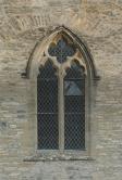 Een blaasbalg bovenin het venster
