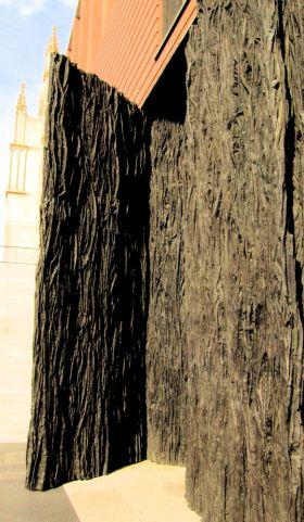 De deuren van el cubo de Rafael Moneo (Het blok van Rafael Moneo).