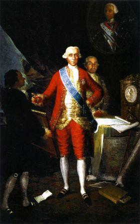 El Conde de Floridablanca, por Francisco de Goya, 1783 (collectie v/d Banc de España)