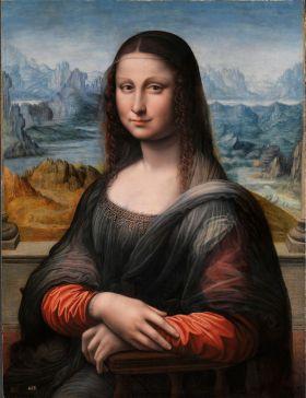 Gioconda (Er bestaan vele kopieën van de Mona Lisa, maar deze was al in het bezit van het Prado sinds de opening. En onderdeel van de Koninklijke Collection, het is het oudste stuk uit deze collectie, en het is bijzonder omdat het is tegelijkertijd is geschilderd in het zelfde atelier als het origineel, door een leerling van Leonardo.