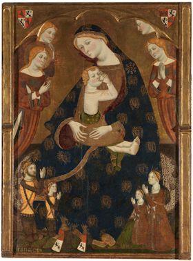 De maagd van Tobed door Jaume Serra (1359 - 1362)