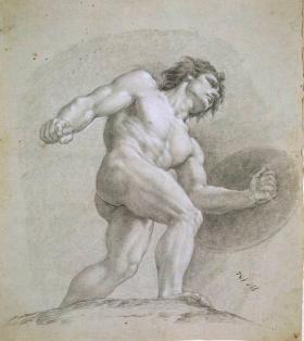 Mars, tekening van Francisco Goya.