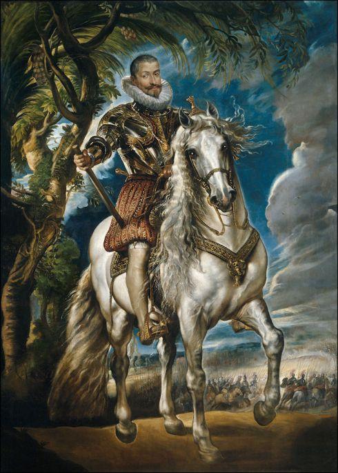 Portret van de Hertog van Lerma, van Peter Paul Rubens