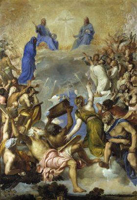 La Gloria van Titiaan (1551 - 1554)