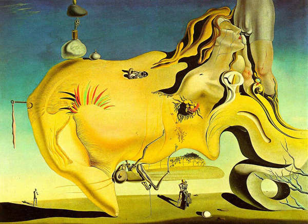 De grote Masturbator, Salvador Dali