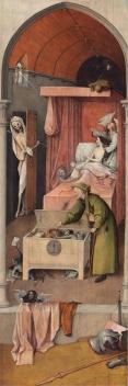 De 'Dood en de Vrek' ca. 1494.