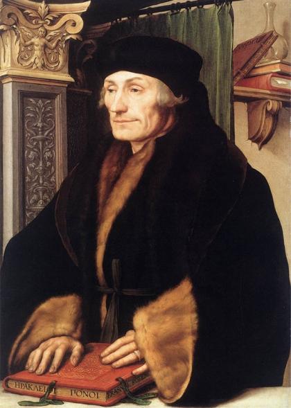 Desiderius Erasmus, theoloog, humanist en filosoof. Het is hoogstwaarschijnlijk dat Bosch hem kende.