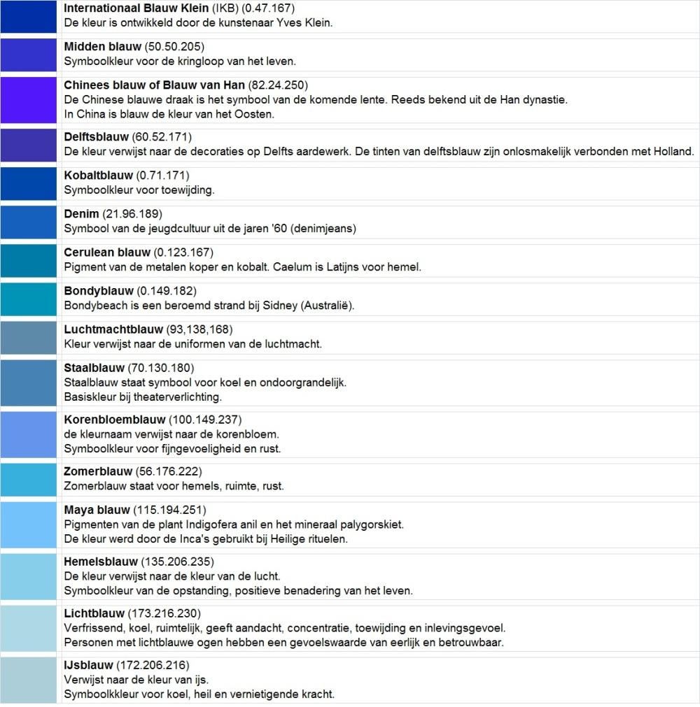 Kleuren 12