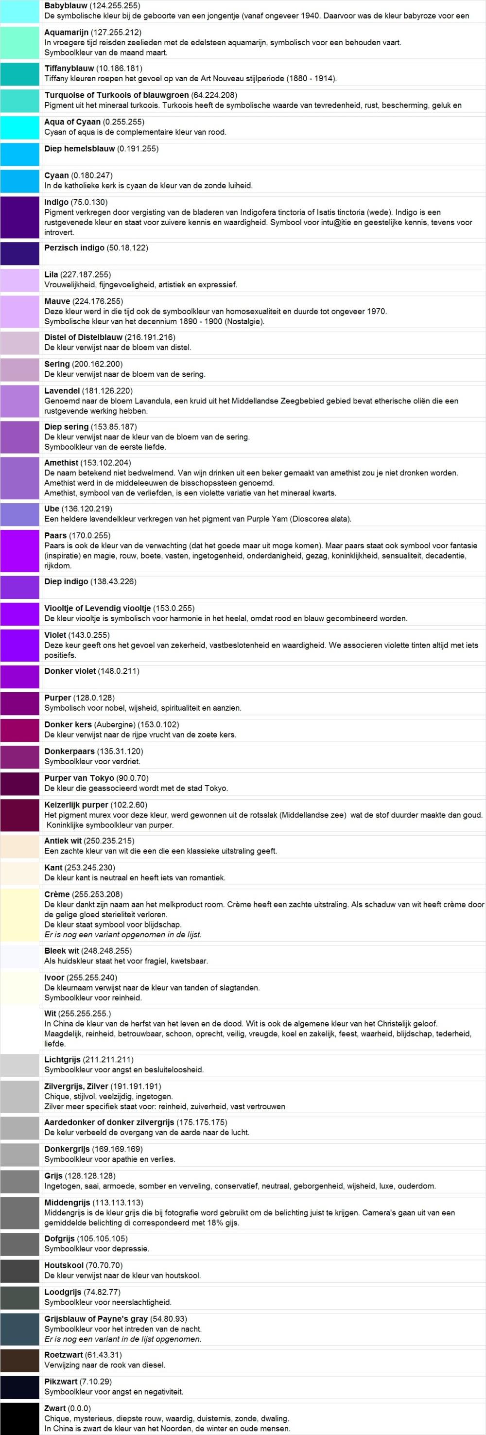 Kleuren 13