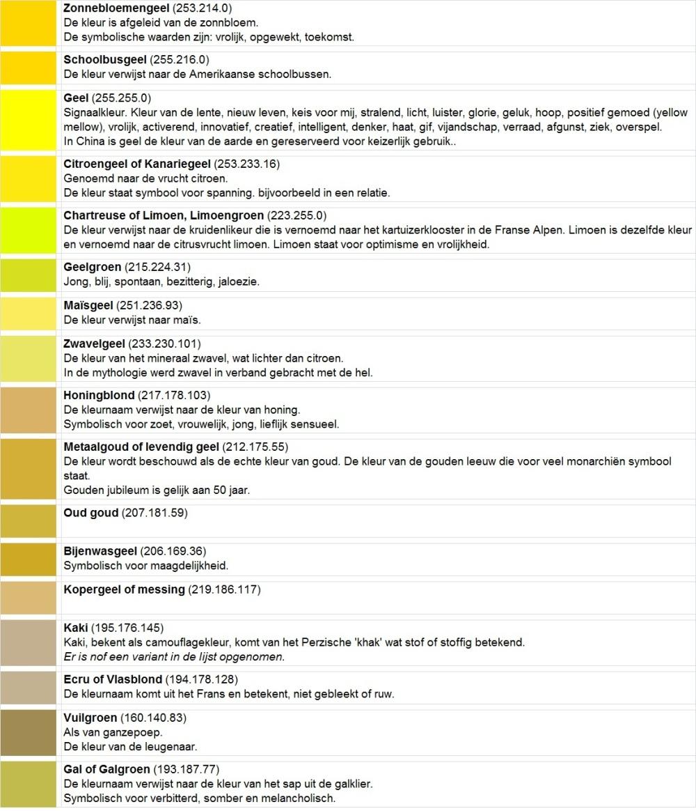Kleuren 8