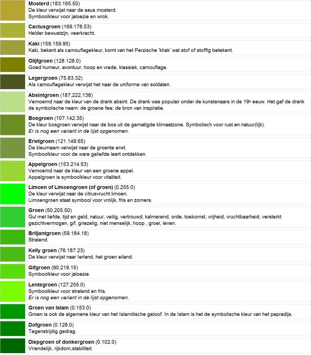 Kleuren 9