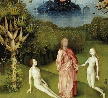 God stelt Eva voor aan Adam?