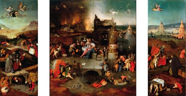 Verzoeking van de Heilige Antonius ca. 1501.