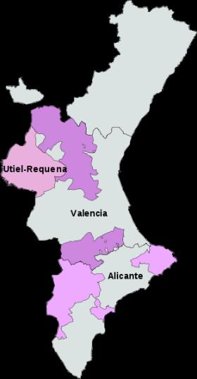 DO wijnen van Valencia.