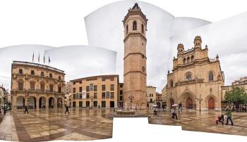Plaza mayor de la ciudad de Castellón. España