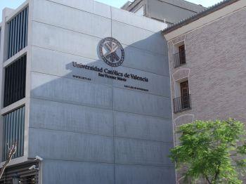 Katholieke Universiteit van Valencia in de voormalige Iglesia de San Carlos Borrmeo