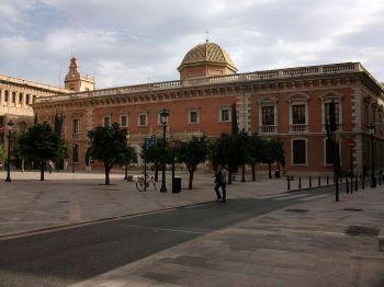 La NAU, historische gebouw van de Universiteit van Valencia.