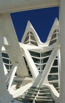 Detail Museo de las Ciencias Principe Felipe.