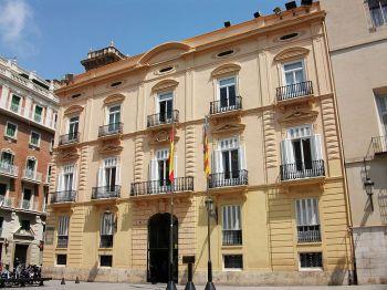Palacio de Batlia, zetel van de Diputación de Valencia