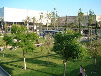 Plein agora van de Polytechnische Universiteit van Valencia.