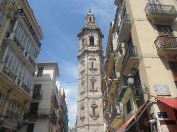 De kerk van Santa Catalina (Valencia).