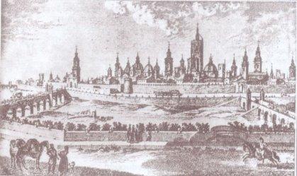 Valencia gezien vanaf het klooster van San Pío V