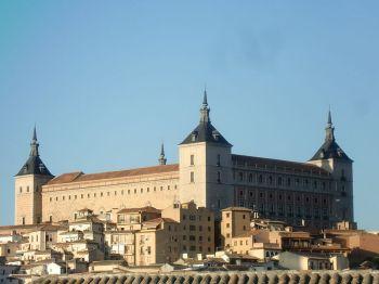 Het Alcázar van Toledo, de grote bibliotheek van Castilla-La Mancha.