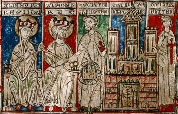 Spaanse verhalen, Castilla-la Mancha, Alfonso III de Castilla en Leonor Plantagenet