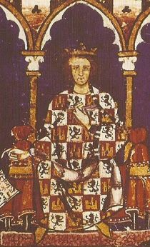 Alfonso X de Castilla, oprichter van de stad die later Ciudad Real genoemd zal worden.