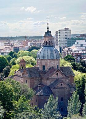 De basiliek van Nuestra Señora del Prado van Talavera de la Reina.