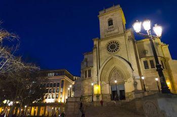 De kathedraal van Albacete.