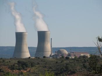 Kerncentrale van Trillo (Guadalajara).